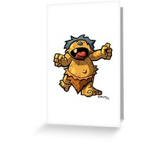 Baby Monster Greeting Card