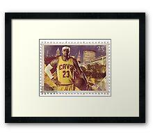 LeBron James Framed Print