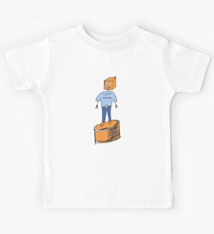 Robot Hero Kids Tee
