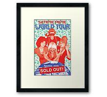 Satanic Panic World Tour Framed Print