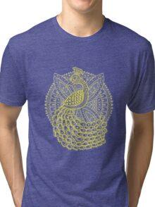 The Gold Peacock Tri-blend T-Shirt
