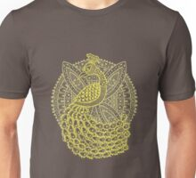 The Gold Peacock Unisex T-Shirt