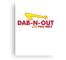 DAB-N-OUT Full Melt Canvas Print