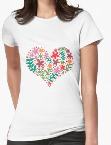 Sweet Spring Womens Fitted T-Shirt