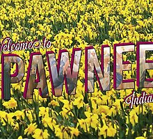 Pawnee Vintage Postcard by gpunch