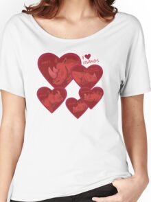 Love Rhinos - multiple species Women's Relaxed Fit T-Shirt