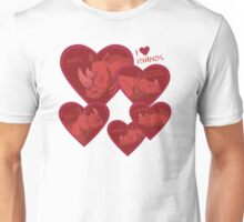 Love Rhinos - multiple species Unisex T-Shirt