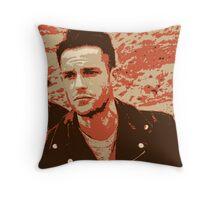 Brandon Flowers Popart Throw Pillow