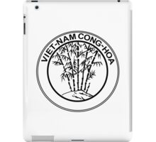 Coat of Arms of South Vietnam, 1955-1957 iPad Case/Skin