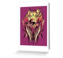 Evil Eye Greeting Card