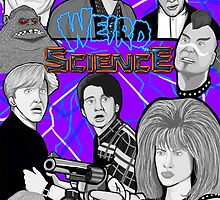 weird science 30th anniversary collage by gjnilespop