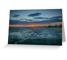 Sunrise - Wynnum, Australia Greeting Card