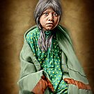 A Taos girl by Kurt  Tutschek