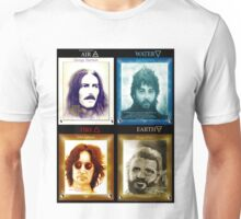 Fab Four Elements in Color Unisex T-Shirt