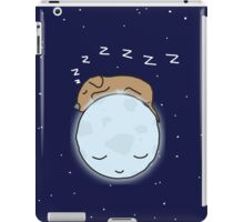 Sleeping Dog & Nightime Moon iPad Case/Skin