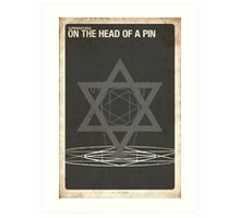 Supernatural 4x16 - On The Head of A Pin Art Print