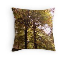 Big Trees Throw Pillow