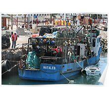 Fishermans Work Poster