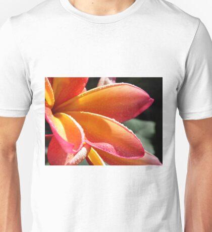 Orange plumeria #1, Big Island of Hawaii Unisex T-Shirt