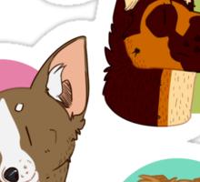 Dog spots Sticker