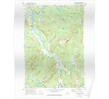 Maine USGS Historical Map East Andover 105086 1968 24000 Poster