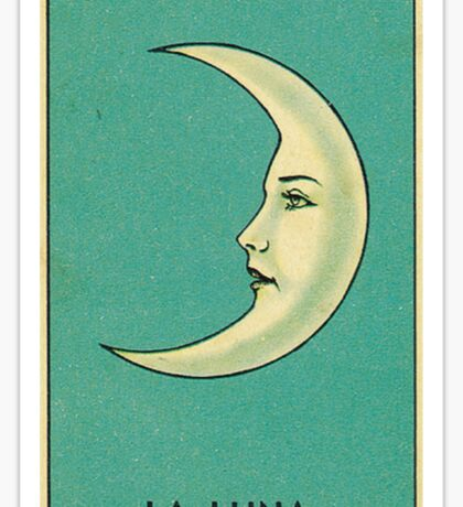 Luna Tarot Sticker