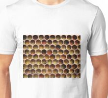 "What do honeybees do? Page 14 ""Pollen stored by the honeybees in the honeycomb."" Unisex T-Shirt"