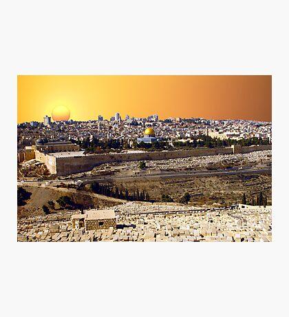 Jerusalem sunset Photographic Print