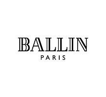 BALLIN - Balmain Parody, (Black on White) by Everett Day