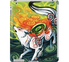 okami den, amaterasu, wolf iPad Case/Skin