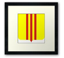Coat of Arms of South Vietnam, 1963-1975 Framed Print