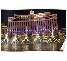 The Fountains of Bellagio Poster