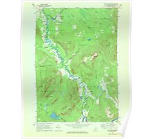 Maine USGS Historical Map East Andover 806663 1968 24000 Poster