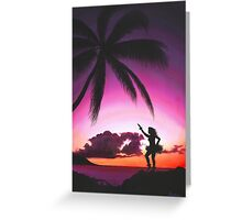 Twilight Chanter Greeting Card