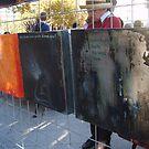 blown apart triptych by warmsugarcube
