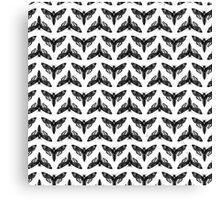 Neo-Goth Cicada Pattern Canvas Print
