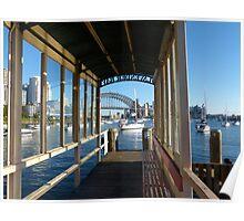 Lavender Bay, Sydney Poster