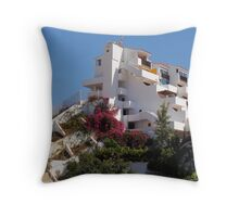 House on a hill Throw Pillow