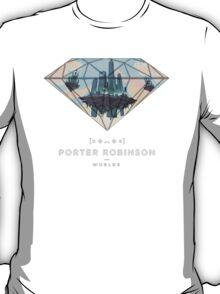 Porter Robinson Worlds Custom Merch T-Shirt