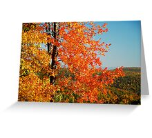 Distant Hills Greeting Card