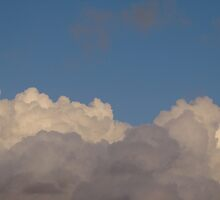 Clouds and Mr Blue Sky by christinawalker