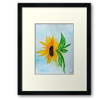 Sunflower Sue Framed Print