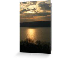 Palisades Sunset Greeting Card