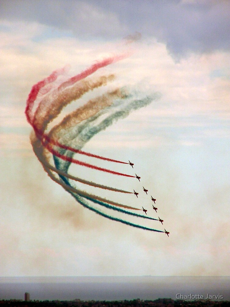 Red Arrows by Charlotte Jarvis