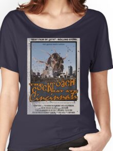THE COCKROACH THAT ATE CINCINNATI - Distressed Ver. Women's Relaxed Fit T-Shirt