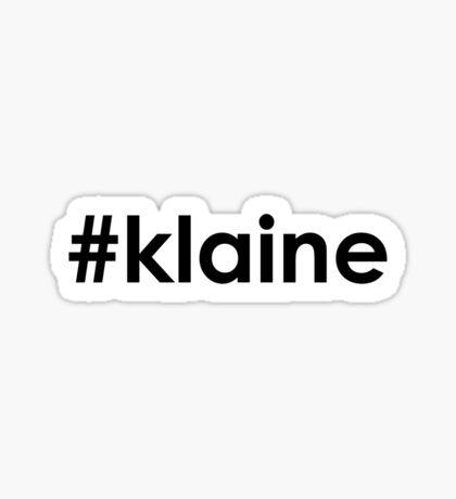 #klaine Sticker