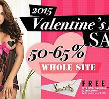 Lovely Valentine's Day SALE by stacymolugo