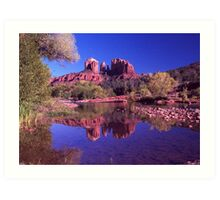 Reflections of Sedona Art Print