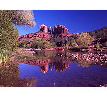 Reflections of Sedona Photographic Print
