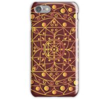 White mandala iPhone Case/Skin